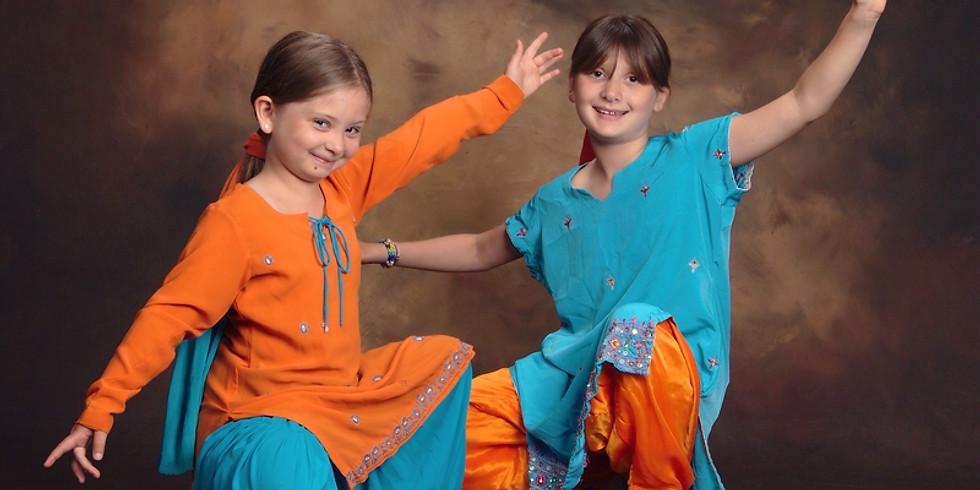 COURS ou stage Enf/ado 8-13 ans DE BHANGRA danses indiennes (2)