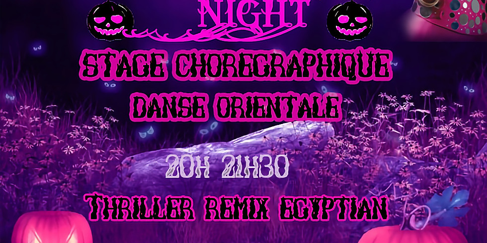 Jawhara Halloween Night Stage THRILLER REMIX EGYPTIAN STYLE 31 octobre