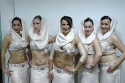 tribal fusion diams circus jawhara