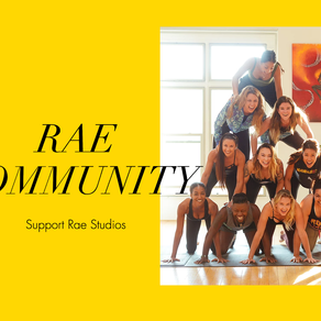 Support Rae Studios: Donations Page