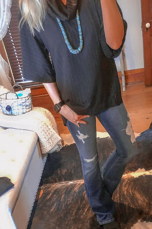 Cowl Neck Tunic