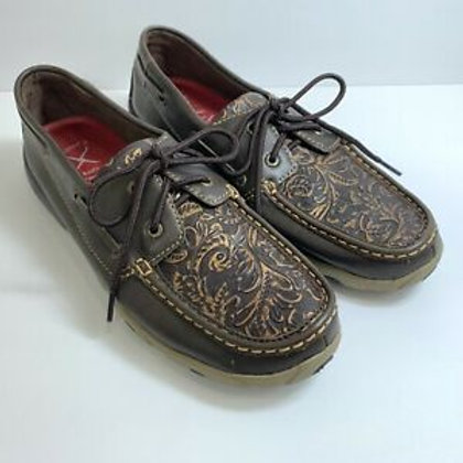 Women's Tooled Twisted X Brown