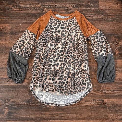 Gorgeous Cheetah Top