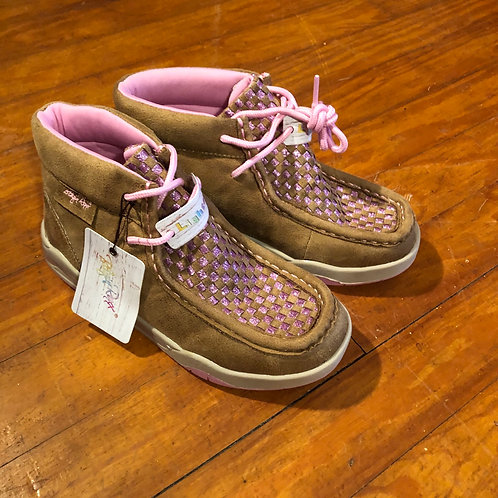 Girls Patchwork Western Shoes