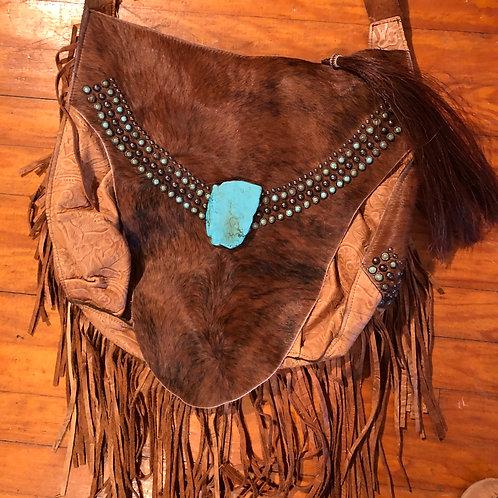 Navajo Genuine Hide & Leather Purse
