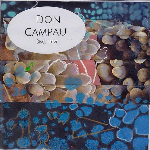 Disclaimer (Don Campau)