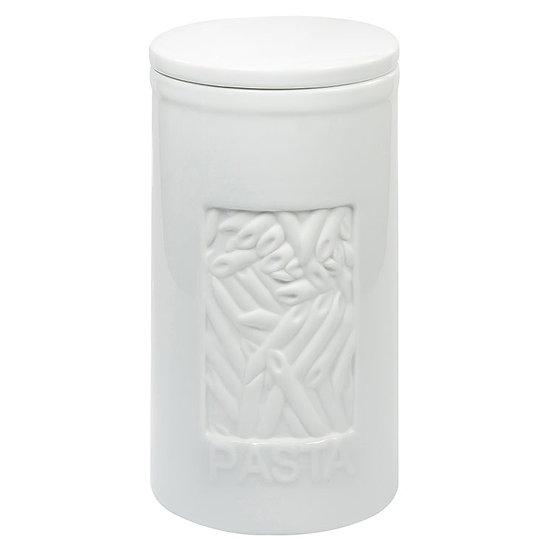 Pote de Porcelana Branco Pasta