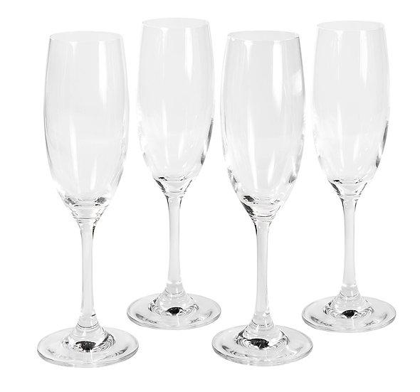 Jogo de 4 taças Crystaline para champanhe (220ML)
