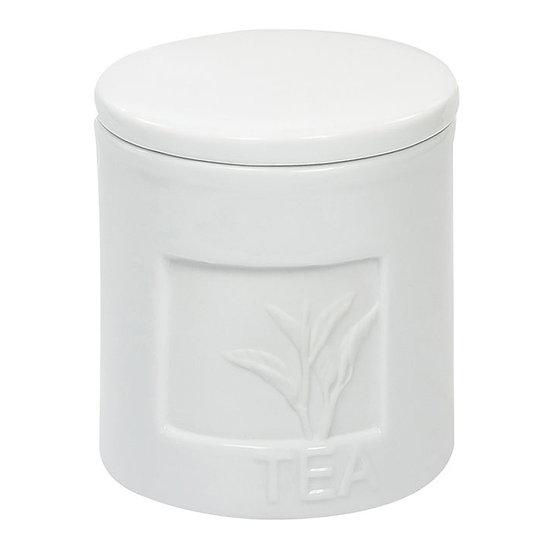 Pote de porcelana para mantimentos com vedação em silicone