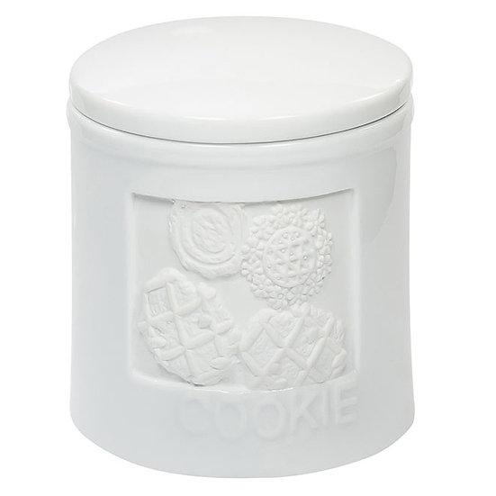 Pote de porcelana para Bolacha com vedação de silicone