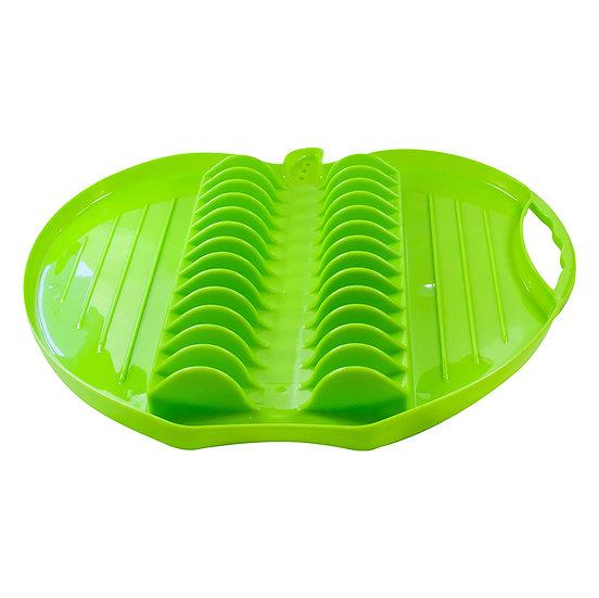 Escorredor de Louças de plastico maça verde