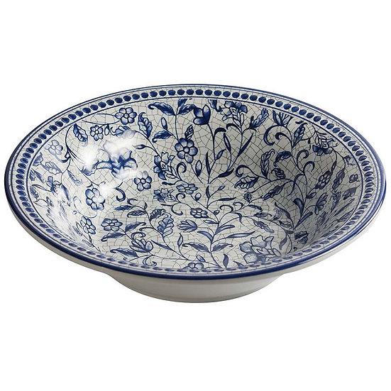 Bowl de melamina decorado floral 20cm