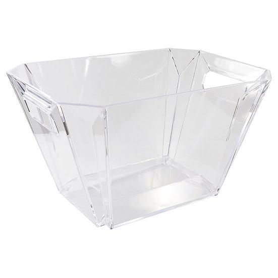 Balde de Gelo Champanheira Acrílico Transparente