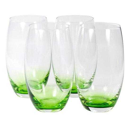 Jogo de 4 copos de vidro Hiball