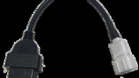 Suzuki 6 pin to OBD2 Cable