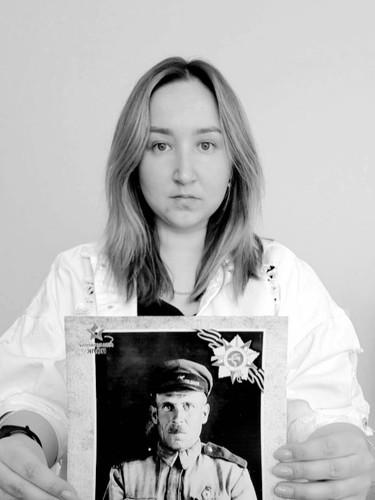 Шведова Татьяна с прадедом Крыловы Александром Егоровичем