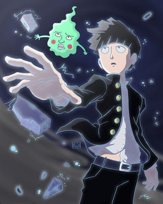 Mob Psycho 100 Fan Art