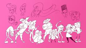 Sketchbook Characters