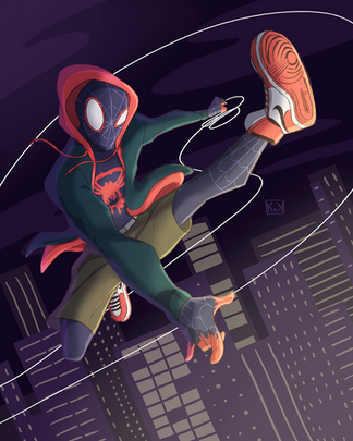 Spiderverse Fan Art