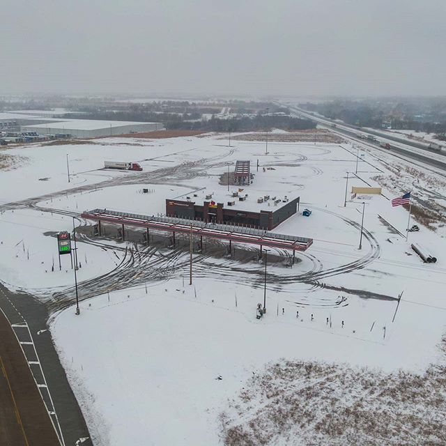 Icy views from above ❄ ⁣_⁣_#Joplin #Jopl