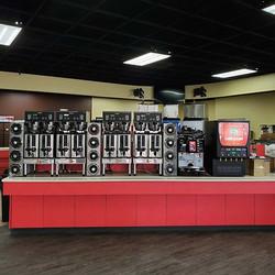Coffee bar going up ☕ __#Joplin #Jopli