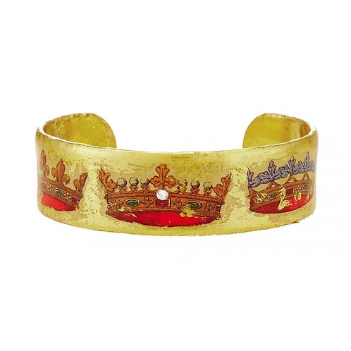EVOCATEUR French Crown Cuff