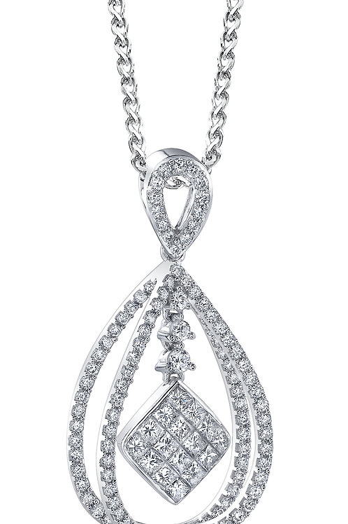 ELMA GIL Diamond Motion Pendant IP-73