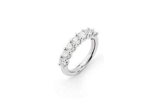 FACET BARCELONA Multisize Diamond Half Eternity Band