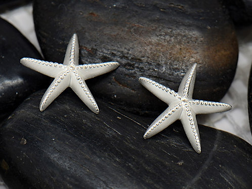 REBECCA HOOK Sterling Silver & Diamond Starfish Stud Earrings