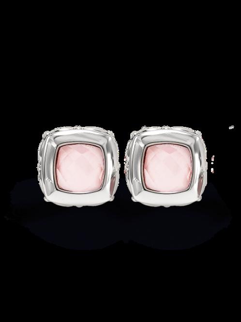 HERA Sterling Silver ZOE Blush Mist Earrings