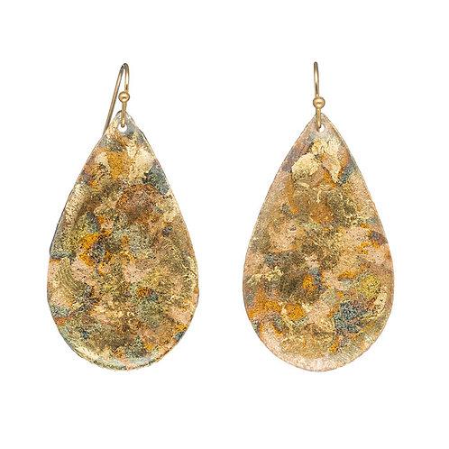 EVOCATEUR Confetti Medium Teardrop Earrings