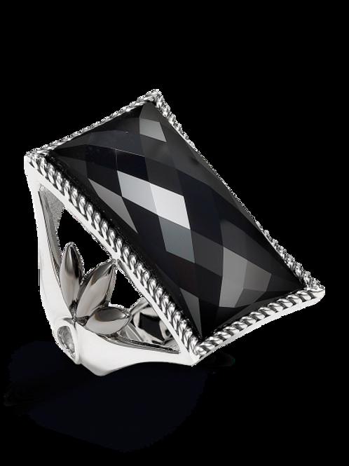 HERA Mignight Sterling Silver ATHENA Onyx Ring