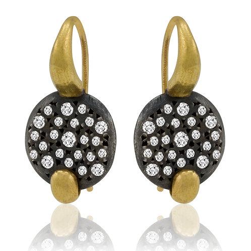 LIKA BEHAR Diamond Drop Earrings PMG-E-101-GOXD