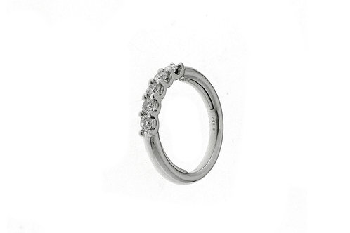 FACET BARCELONA Diamond Multisize Half Eternity Band