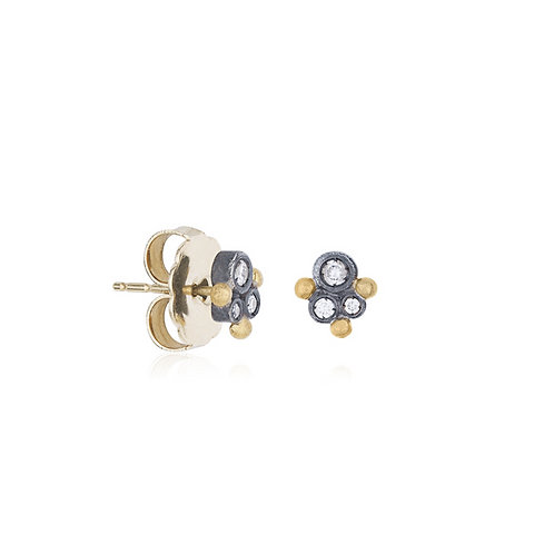 LIKA BEHAR Diamond Stud Earrings DY-E-203-GXD-19