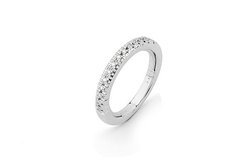 FACET BARCELONA Multisize Diamond Illusion Half Eternity Band