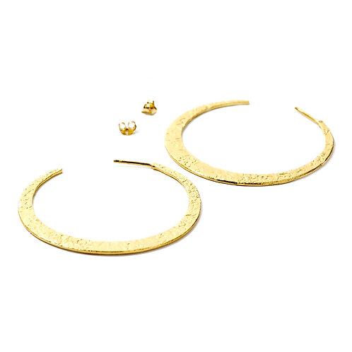 NINA NGUYEN 22K Gold Vermeil Medium Crescent Earrings