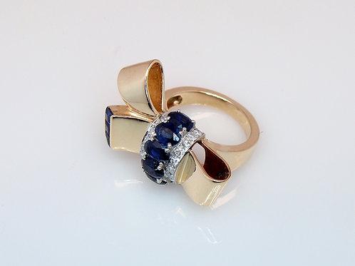 ESTATE Tiffany & Co. Bow Tie Ring