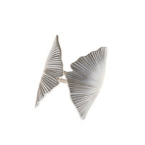 REBECCA HOOK Sterling Silver Ginkgo Ring