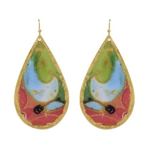 EVOCATEUR Miami Teardrop Earrings