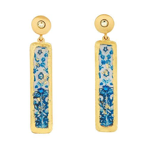 EVOCATEUR Lisbon Column Earrings