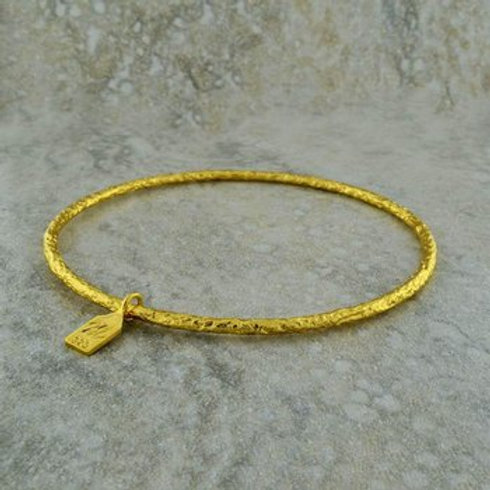 NINA NGUYEN 22K Gold Vermeil PALLAS  Bangle