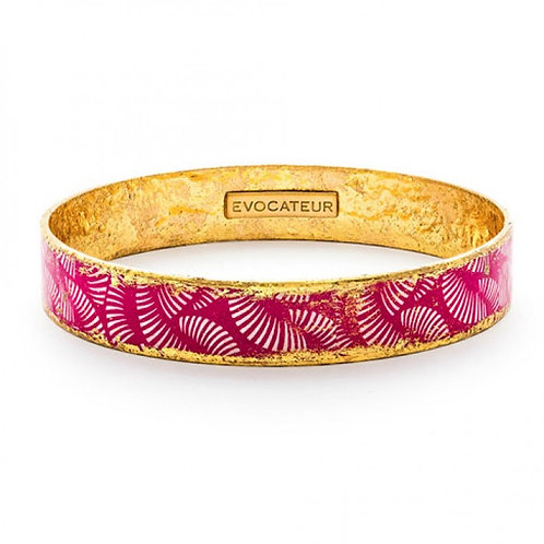 EVOCATEUR Pink Azalea Bangle