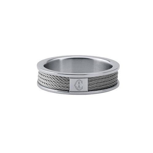 CHARRIOL Stainless Steel FOREVER Thin Cable Ring