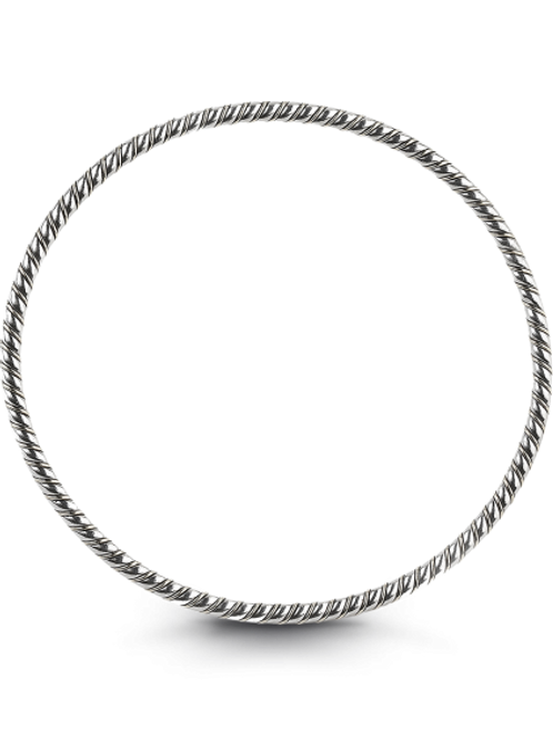 HERA Sterling Silver COCKTAIL STAX Twist Stacking Bangle