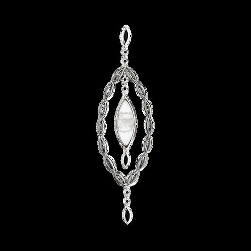 HERA Sterling Silver MEDITERRA Pendant on Chain