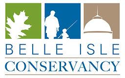 Belle Isle Conservancy Logo white back.j