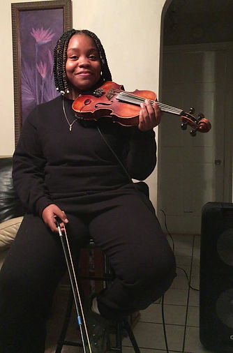 Violinist Kym Brady plays a cover of the song Watermelon Sugar by Harry Styles
