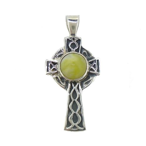 Highland Marble Celtic Cross Pendant