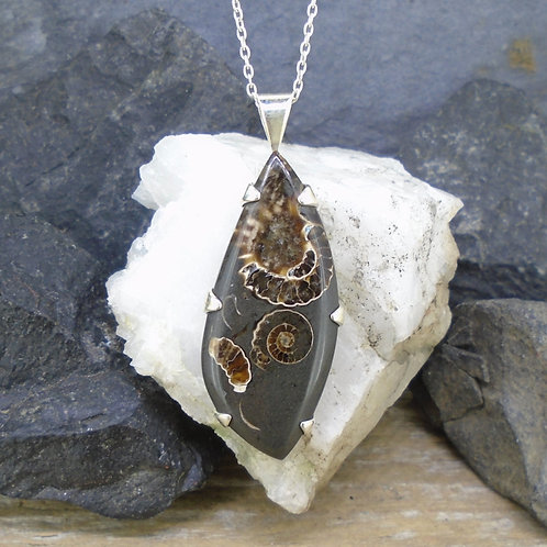 Marston Marble Sterling Silver Pendant